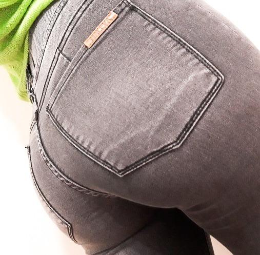 Calza Jeans Chupin Elastizado Dama Maleva (34-54) 6 Cuotas!