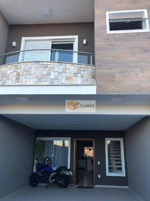 Sobrado Com 3 Dormitórios À Venda, 145 M² Por R$ 518.000 - Parque Jambeiro - Campinas/sp - So0016