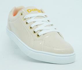 Tênis Feminino Doma Shoes Creme Promoção