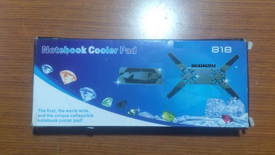 Pad Cooler 818 Para Laptop