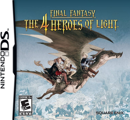 Final Fantasy The 4 Heroes Of Light - Ds