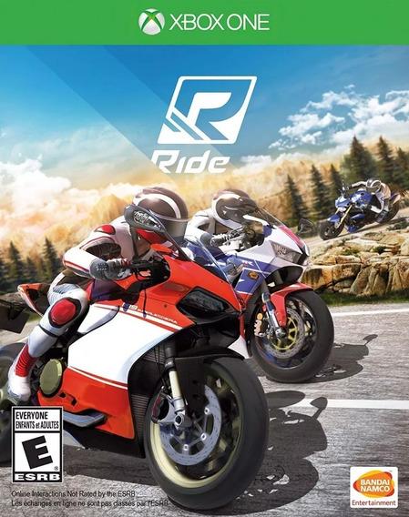 Ride Lacrado Xbox One! Loja Física!