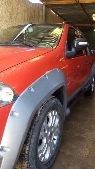 Fiat Strada 1.8 Adventure Cab Ex Aa+da 2009