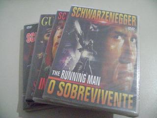 Pacote De Dvds De Arnould Schwarzenegger Com 04 Dvds