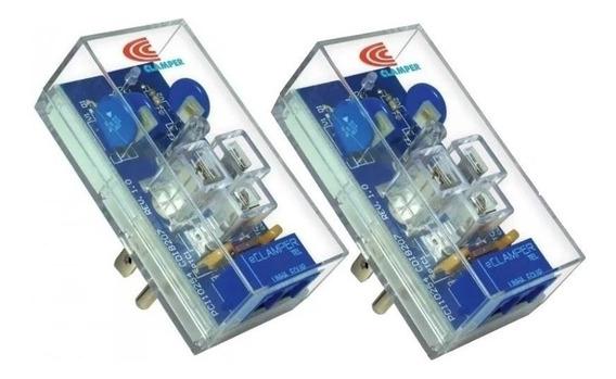 2 Supresores Picos Eléctricos Pararrayos Teléfono E-clamper