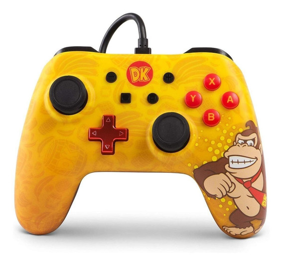Controle joystick PowerA Wired Controller Switch donkey kong
