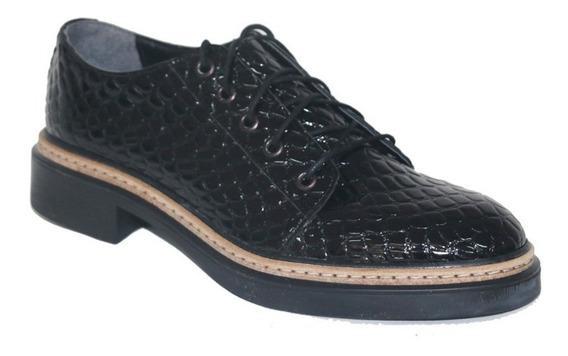 Mocasines Charol Croco   Zapatos Invierno   Nazaria