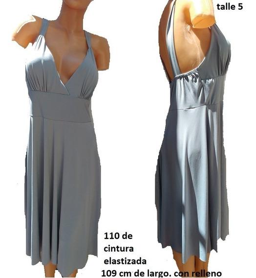 Vestido Talle 5/6 C/relleno Super Elastizado