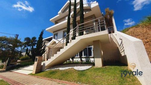 Casa Com 4 Dormitórios À Venda, 300 M²  Condomínio Residencial Jaguary - São José Dos Campos/sp - Ca1560
