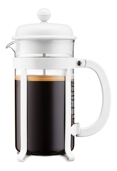 Cafetera Bodum Java Blanco French Press 1lt Envio Gratis