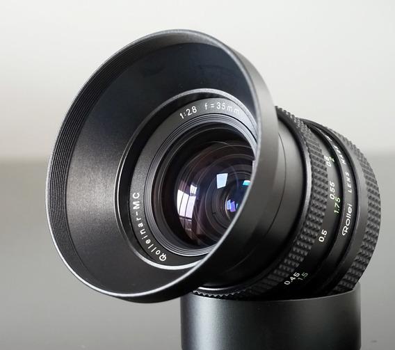 Lente Rollei(voigtlander)35mm F2,8 Qbm--sony-canon- Micro4\3