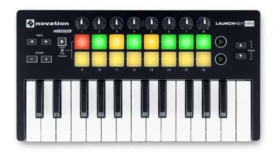 Teclado Controlador Launchkey Mini Mk2 25 Teclas - Novation