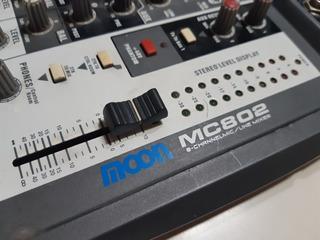 Consola De Sonido De 8 Canales Moon Audio System (mc 802)
