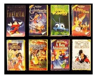 Filmes Clássicos Disney Em Vhs Dublados Veja Os Disponíveis.
