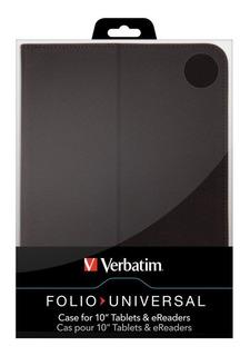Funda Verbatim 10 Tablets Y Ereaders Tela Y Felpa Interior