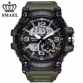 Relógio Masculino Preto Digital Aprova Dagua Esportivo Black