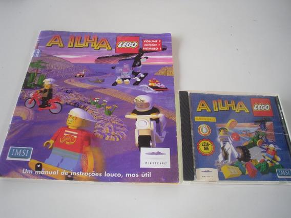 Revista A Ilha Lego + Cd Volume 1 Edição 1 Numero 1