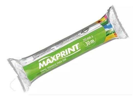 Bobina Papel Para Fax Maxprint