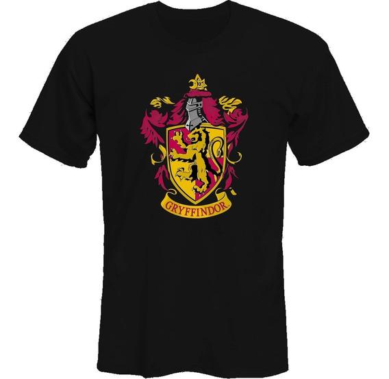 Remeras Harry Potter Gryffindor Escudo *mr Korneforos*