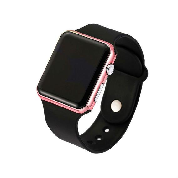Relógio De Pulso Led Digital Criança Adolescente 124