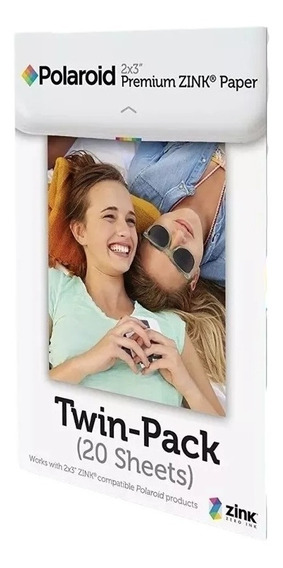 Refil Polaroid 2x3 Polegadas Premium Zink Photo Paper