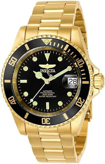 Relógio Invicta Masculino Pro Diver Dourado