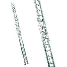 Alquiler De Escaleras Extensible 9 Mt Y 6 Mt Aluminio Arnes
