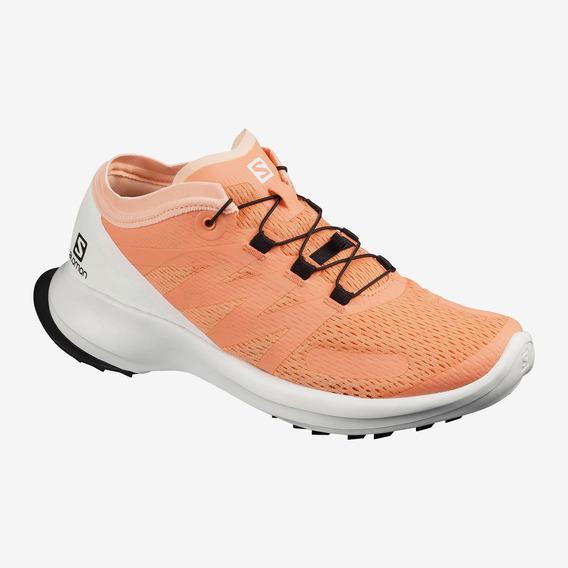 Zapatillas Salomon Sense Flow Trail Running Mujer Can/wh