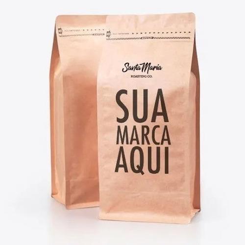 Cafe Personalizado Empresa Logo Grao Ou Moido Torrado 10 Kg