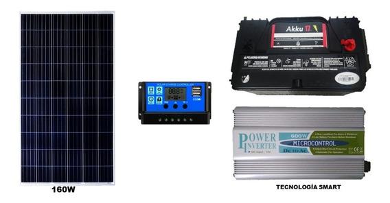 Kit Solar Fotovoltaico 800wh/24h Envio Ocurre Gratis