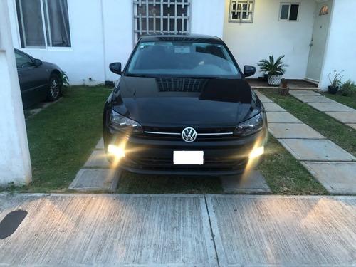 Imagen 1 de 11 de Volkswagen Virtus Ta 2020 Negro