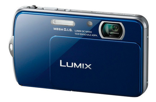 Câmera - Panasonic Lumix Dmc-fp7 16.1 Mp Digital Camera