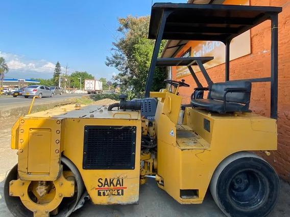 Vibrocompactador Sakai Tw 41 Diesel Operativo