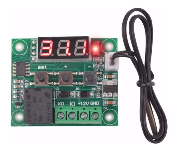 Termostato Digital E Controlador De Temperatura W1209 On/of