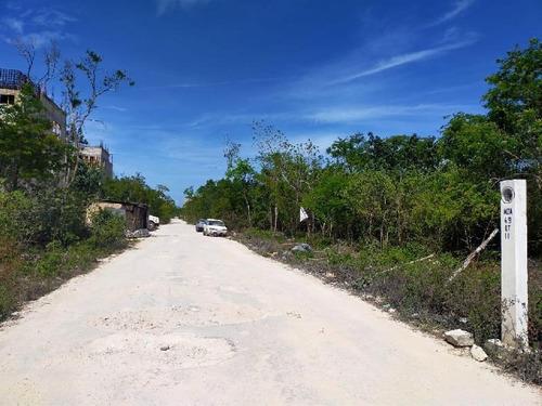 Imagen 1 de 6 de Terreno En Venta En Tulum