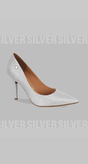 Stilettos Vizzano Glitter Plata