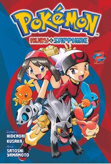 Pokémon Ruby & Sapphire 2! Mangá Panini! Novo E Lacrado!