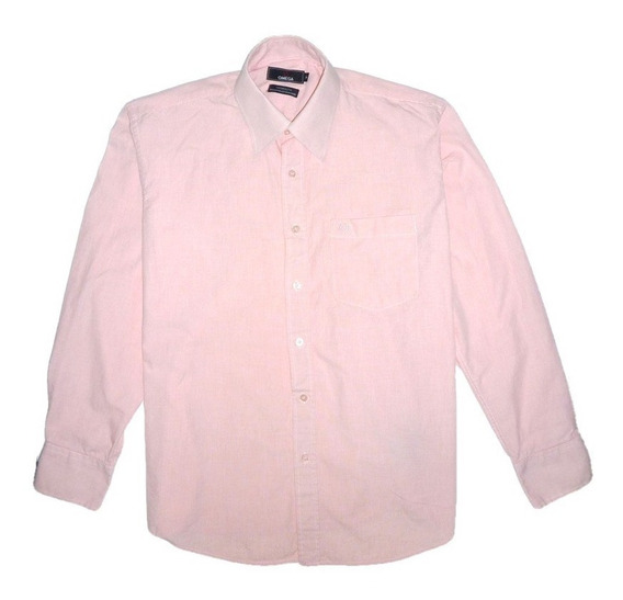 Camisa Manga Larga Rosada 100% Algodon. Aceptamos Pago Movil