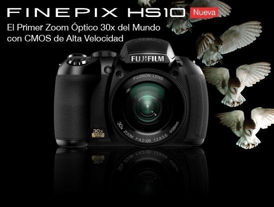 Camara Fujifilm Hs10 De 30x *100v*