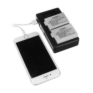 Palo Lp-e8-c Usb Recargable Batería Cargador Teléfono Móvil