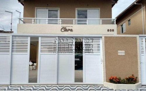 Imagem 1 de 11 de Casa De Condomínio Com 2 Dorms, Mirim, Praia Grande - R$ 195.000,00, 60m² - Codigo: 5526 - V5526