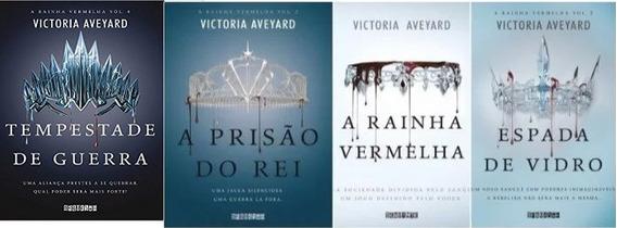 Coleção 4 Livros A Rainha Vermelha Victoria Aveyard