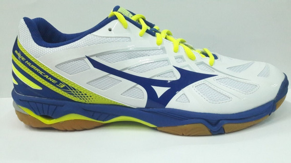 tenis mizuno wave hurricane yellow