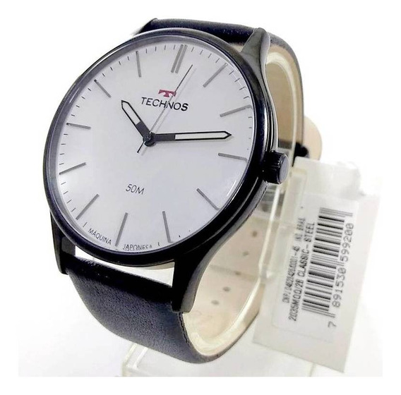 Relógio Technos Masculino Pulseira Couro 2035mqq/2b 42mm