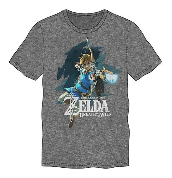 Playera Camiseta Colección The Legend Of Zelda Ysz Thinkgeek