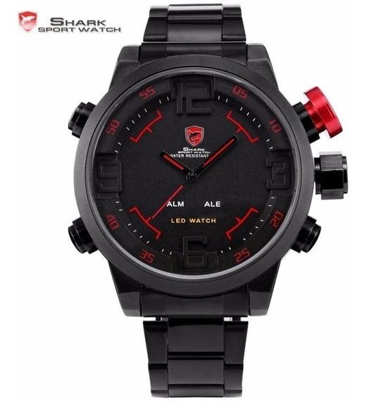 Relógio Shark Sport Watch Analógico E Digital