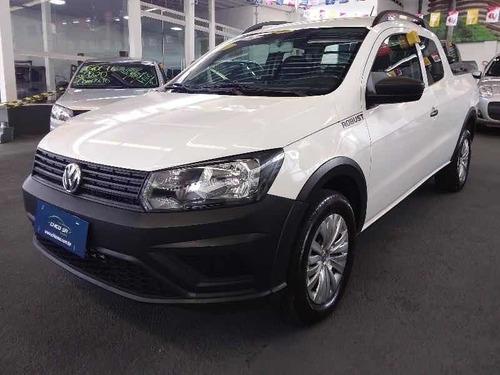 Volkswagen Saveiro 2019 1.6 Robust Cab. Dupla Total Flex 2p