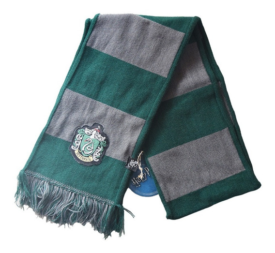 Bufanda - Harry Potter - Slytherin - Rayada