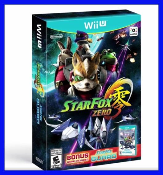 Star Fox Zero Wii U Novo Lacrado Original Nintendo