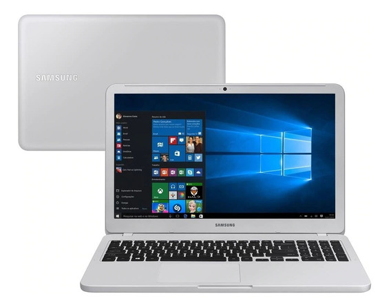 Notebook Samsung E30 Intel Core I3 4gb 1tb 15.6 W10 Branco